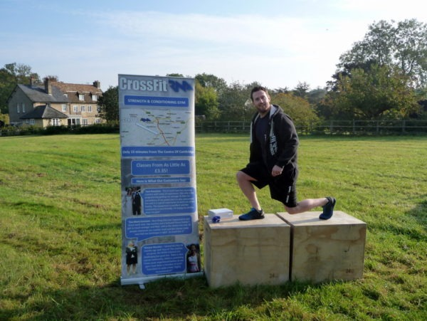 The Lunge (on a Box) demonstrated by Scott