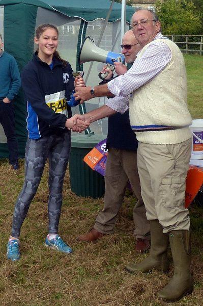 Ella Miels, 2016 Grantchester Charity 3k Winner